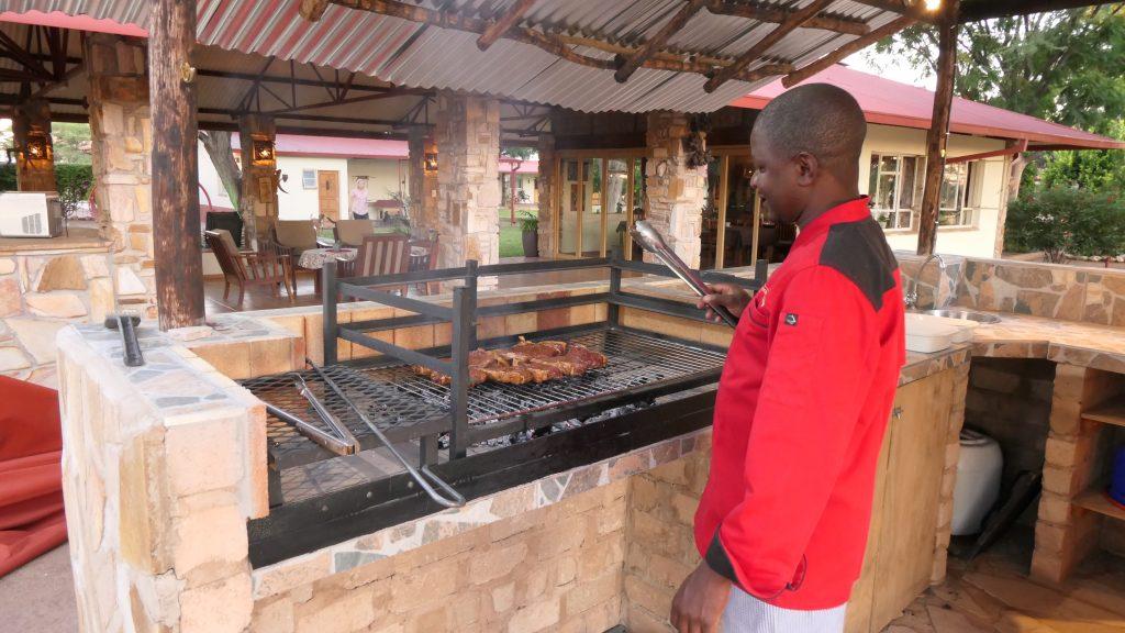 Bestes Steak auf dem Steinkohlegrill